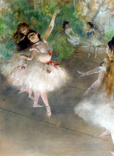 Ballet Dancers. Edgar Degas. 1899.