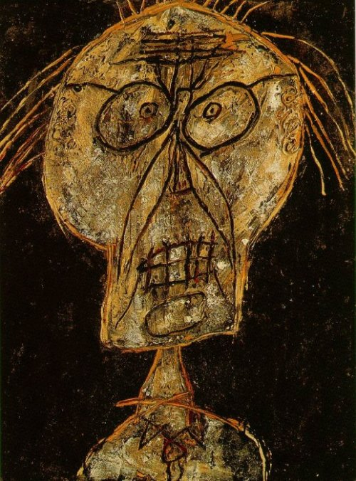 Grand Maitre of the Outsider. Jean Dubuffet. 1947.