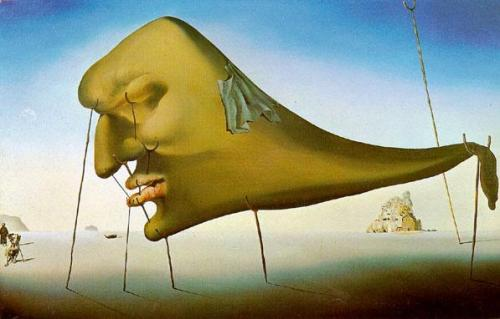 The Dream. Salvador Dali. 1931