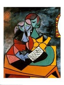 The Lesson. Pablo Picasso