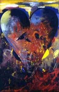Pappas Heart. Jim Dine. 1988.